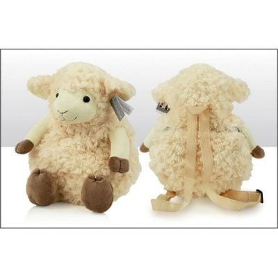 Irish Sheep Teddy Back Pack