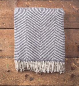Giant Herringbone Throw