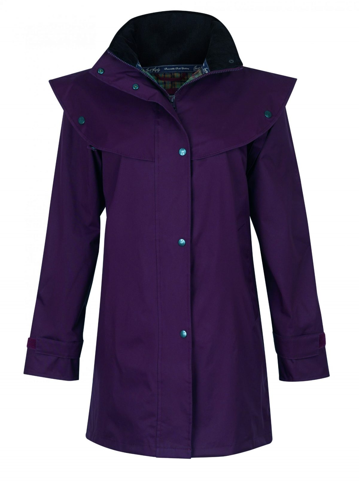Cotswold Waterproof Coat Blackberry