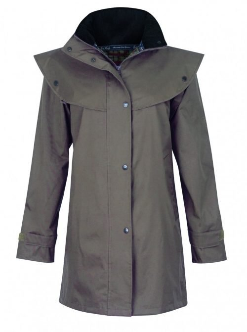 Cotswold Waterproof Coat Chinchilla