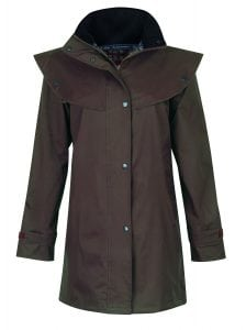 Cotswold Waterproof Coat Chocolate