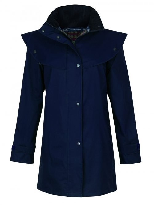 Cotswold Waterproof Coat Navy