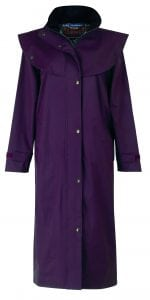 Malvern Waterproof Coat Blackberry