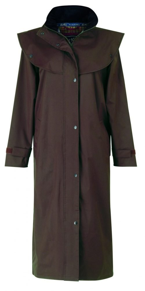 Malvern Waterproof Coat Chocolate