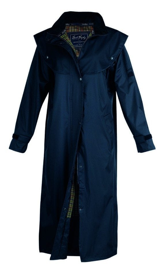 Malvern Waterproof Coat Navy