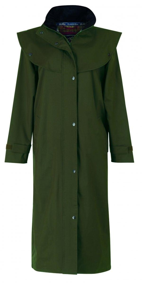 Malvern Waterproof Coat Olive