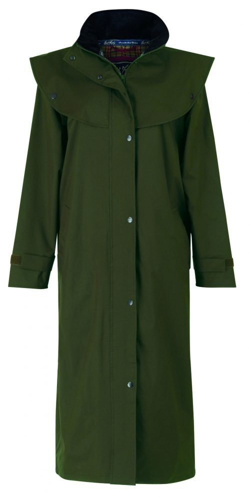 Malvern Waterproof Coat Olive