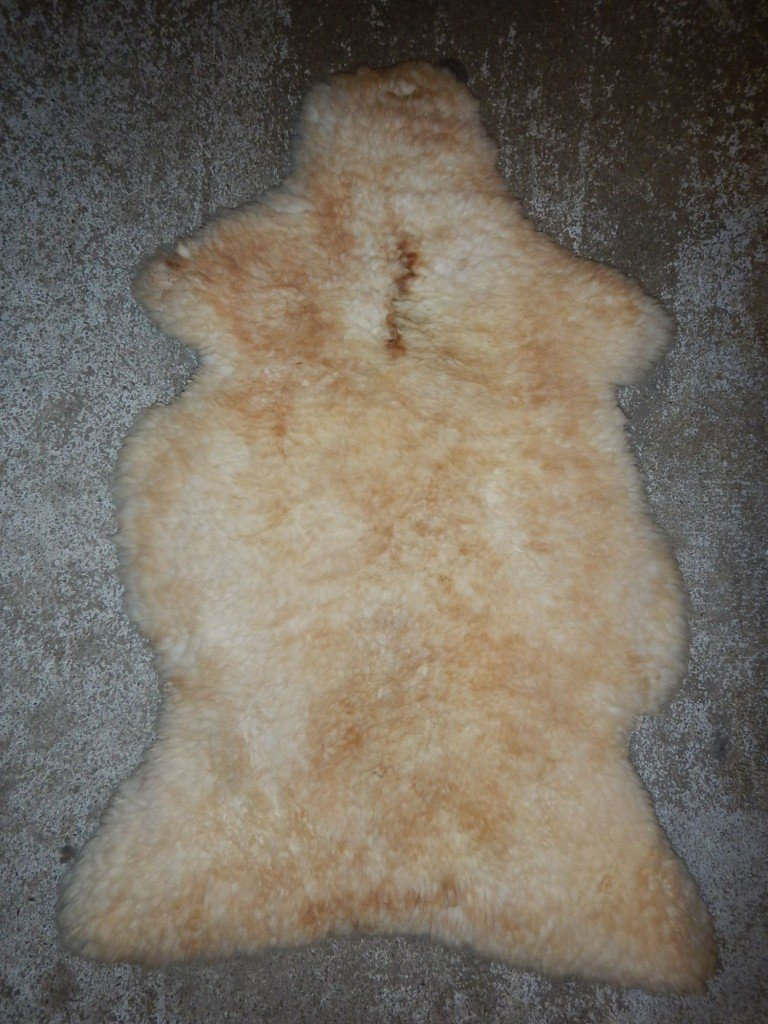 Beige Irish Sheepskin