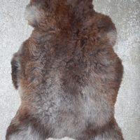 Grey & Brown Irish Sheepskin