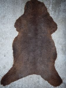 Brown Irish Sheepskin