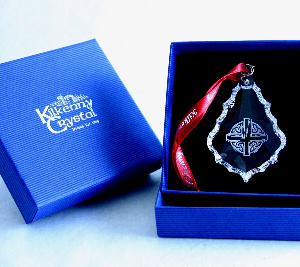 Celtic Cross Hanging Crystal