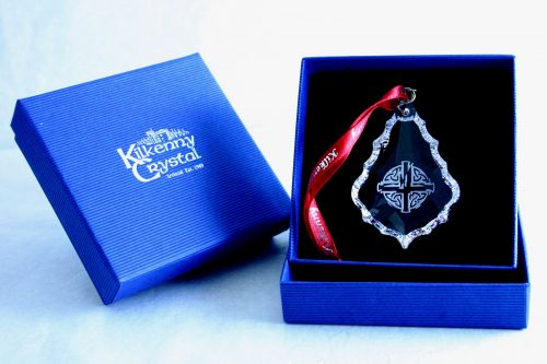 Celtic Cross Hanging Crystal