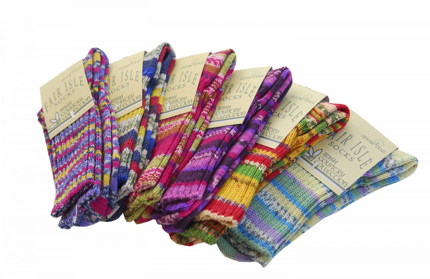 36874303e25d7 Irish Country Collection Socks | Molly Gallivans