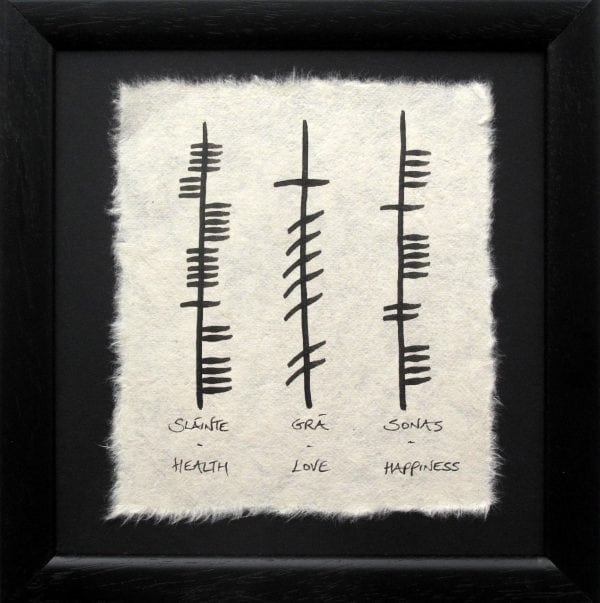 Health Love Happiness Small Ogham Blessing