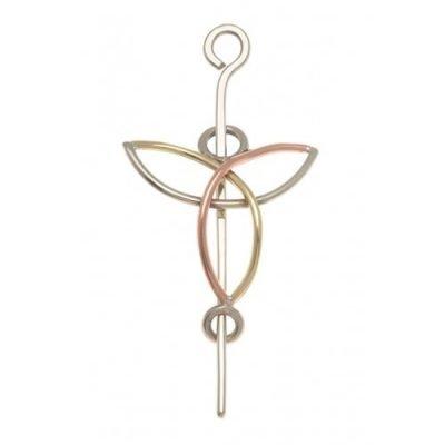 Trinity Knot Shawl Pin