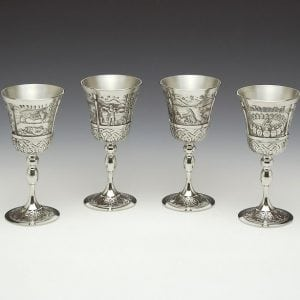 Mythical Ireland Set of Irish Goblets