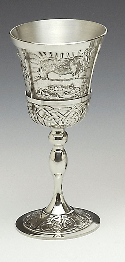 Queen Maeve Pewter Goblet