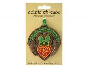 Celtic Claddagh Hanging Ornament