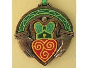 Celtic Claddagh Hanging Ornament