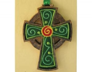 Celtic Cross Hanging Ornament
