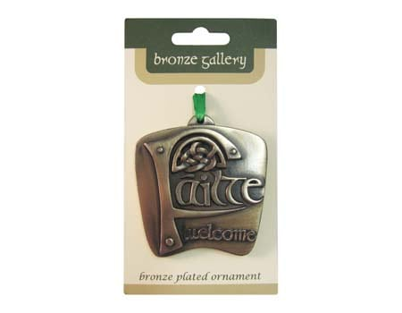 Failte Hanging Ornament