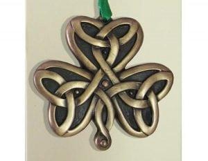 Shamrock Hanging Ornament
