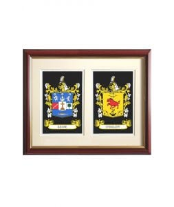 Double Family Crest