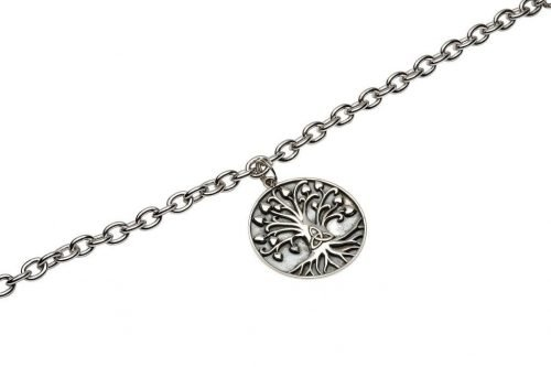 Silver Tree Of Life Trinity Bracelet SB2017