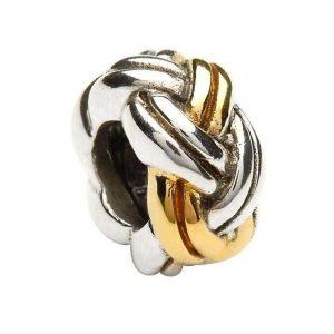 Silver Celtic Weave Charm