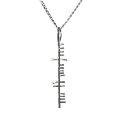 Happiness Ogham Pendant