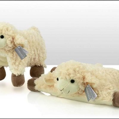 Sheep Toy Velco Cushion