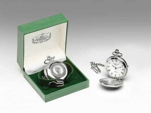 Harp Pewter Pocket Watch P246_Harp1_