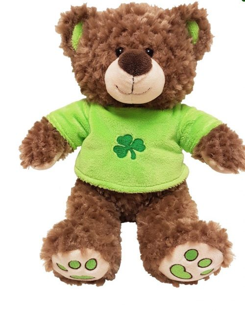 Irish Jumper Teddy Bear Shamrock