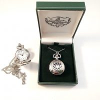 Irish Pewter Pendant Watch Claddagh