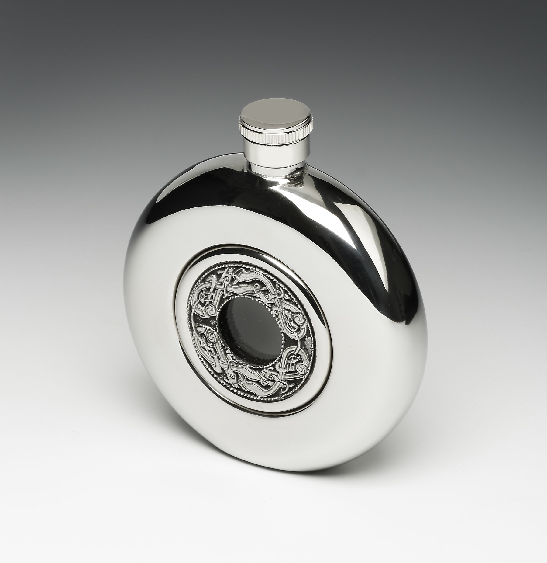 Pewter Whiskey Flask