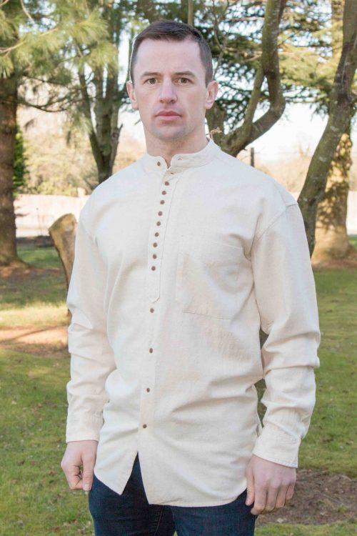 Traditional Irish Grandfather Shirt