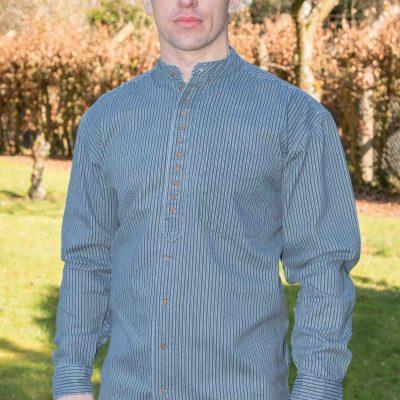 Striped Irish Grandfather Shirt