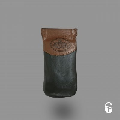 Leather Snap Glasses Case